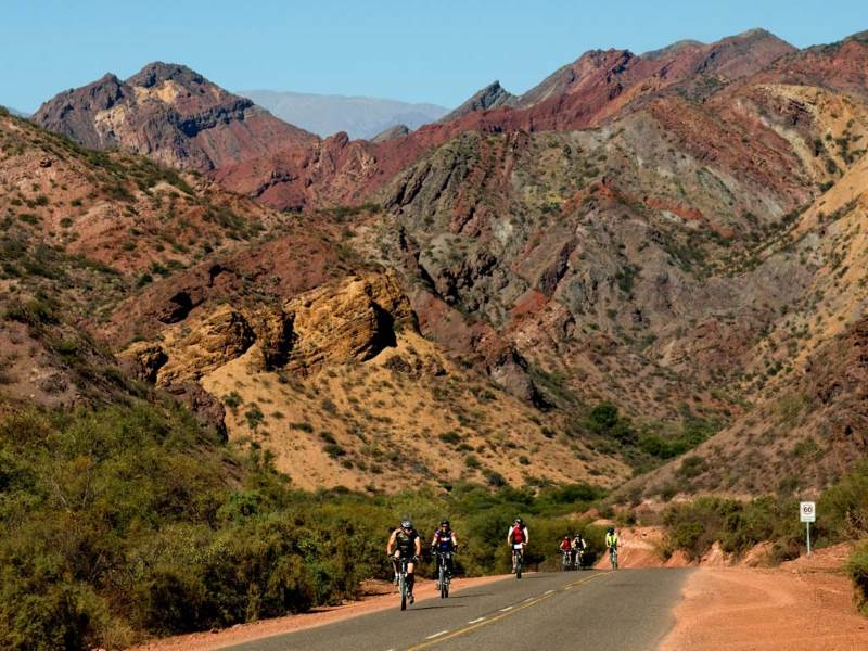 Work off some of the steak and wine you have been taking in while on tour in Cafayate.