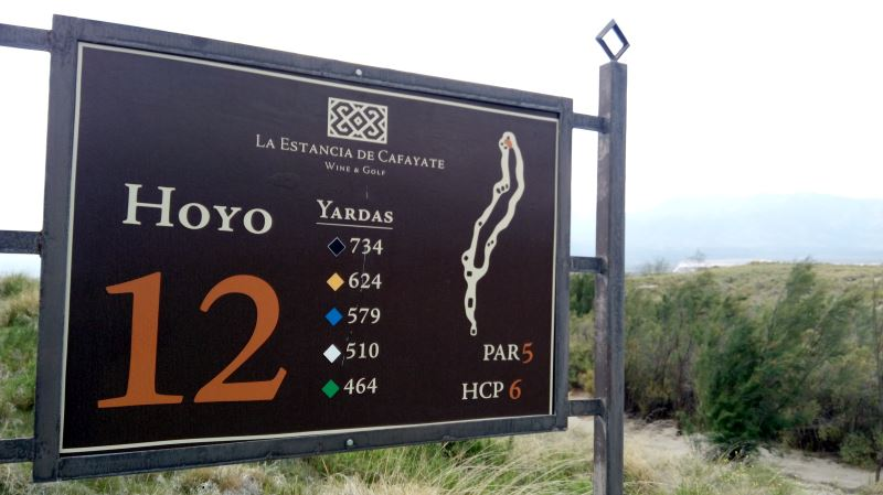 Try to play the La Estancia course in Cafayate in the morning - it is a brute in the afternoon wind