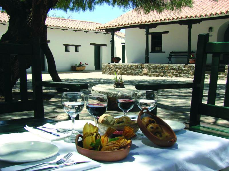 Use this lovely hotel in Molinos as your base to visit Colome - the highest vineyard in the world.