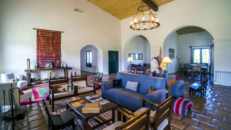 This is a lovely hotel in a restored hacienda outside Cachi - it is a real treat to stay here.