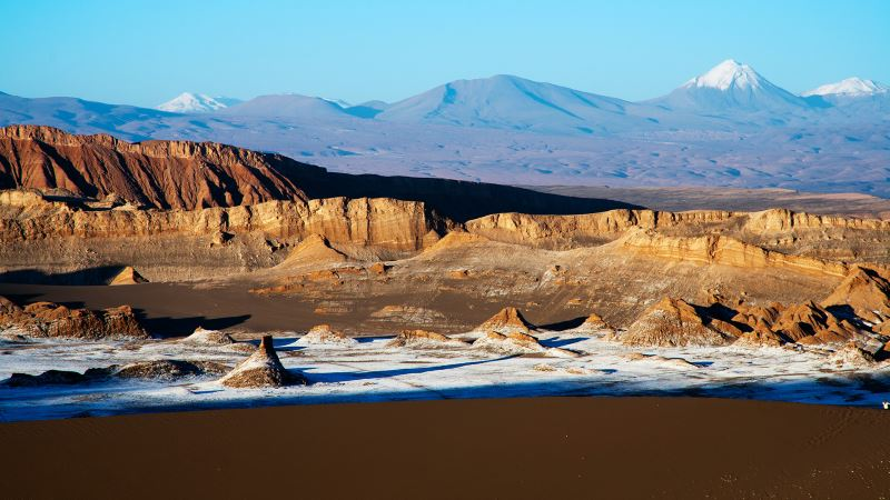 The beautiful Valley of the Moon is a must-do visit on a tour in San Pedro de Atacama.
