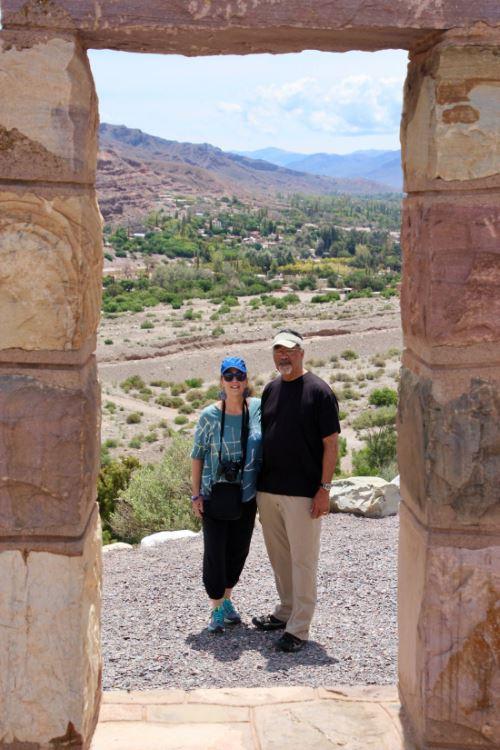 Pre-Inca ruins of Tilcara in the Humahuaca Canyon